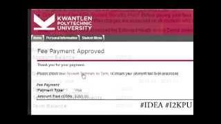 I2KPU Video Series - Part 2: Registering for classes