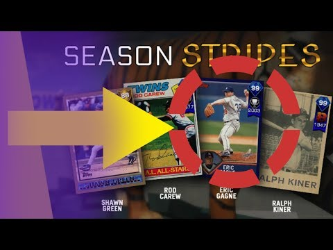 99 DIAMOND ERIC GAGNE NEEDS TO BE ON MY SQUAD! SEASON STRIPES | MLB THE SHOW 17 DIAMOND DYNASTY
