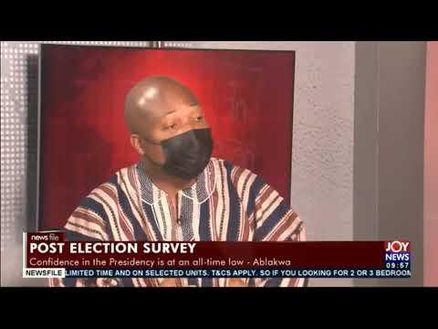 CDD post election survey: President Akufo-Addo must sit up - Samuel Okudzeto Ablakwa #Newsfile