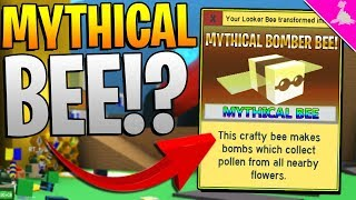 FREE NEW MYTHICAL BEE IN ROBLOX BEE SWARM SIMULATOR! *Update!*