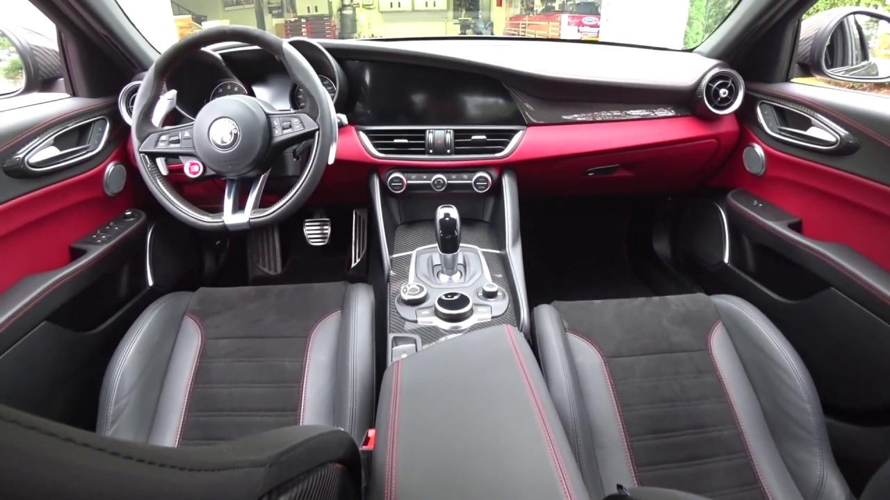 Alfa Romeo Giulia Interior >> Alfa Romeo Giulia Qv Carbon Fiber Interior Upgrades Auto Fanatic