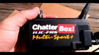 Chatter Box -- My New Walkie Talkies For Riding With Friends
