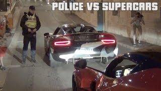 POLICE VS SUPERCARS à Monaco ! ÇA RIGOLE PAS !