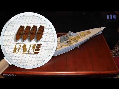 Constructia Cuirasatului Bismarck Partea a II-a; Construction of Bismarck Battleship Part II