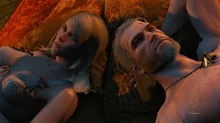 Ведьмак 3 секс Геральда с Кейра Мец (Witcher 3: sex Keira Metz)