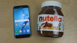 Samsung Galaxy S7 Edge Nutella 630g - Test!
