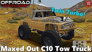 Off-Road Outlaws: NEW UPDATE! TWIN TURBO MONSTER TOW TRUCK BUILD