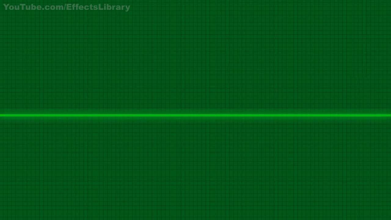 Heart Beat Monitor Flat Line Sound Effects - YouTube