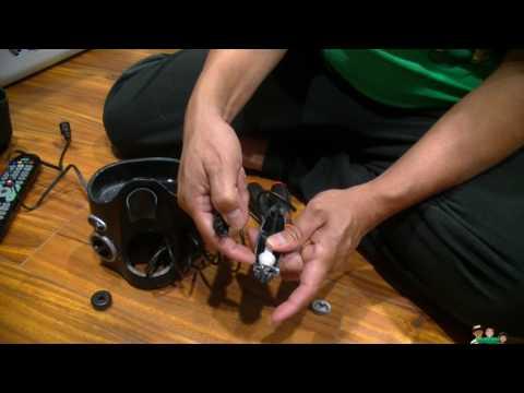 Waterpik Handle Button Stuck  non warranty repair