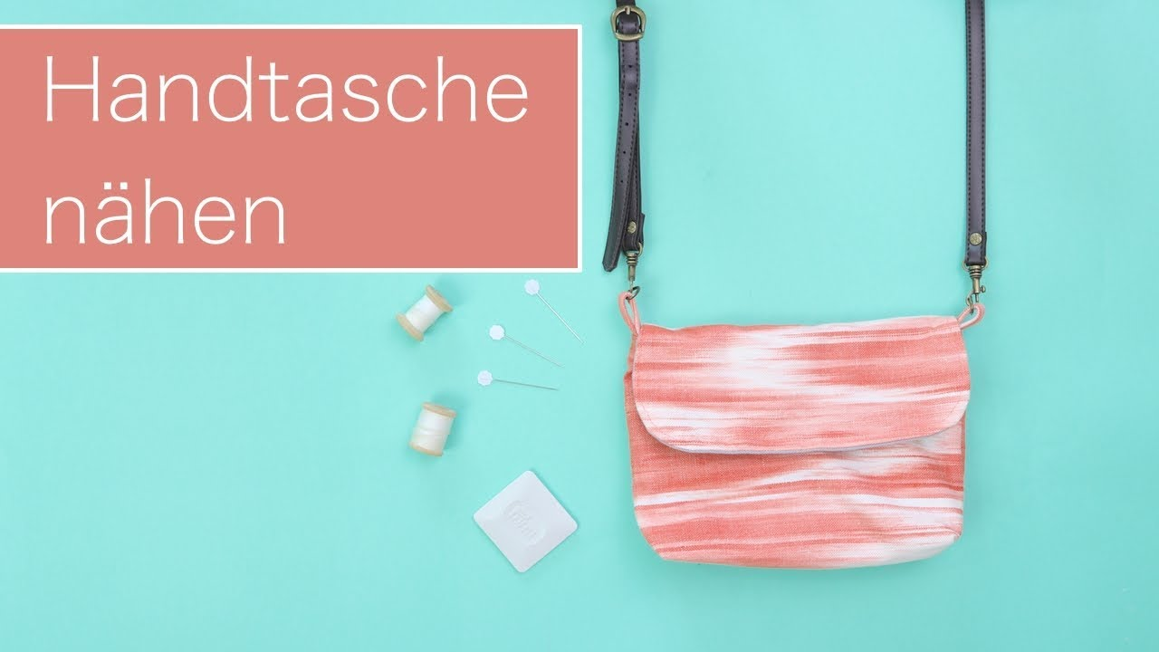 Nähanleitung: Einfache Handtasche nähen | Kostenloses Schnittmuster ...