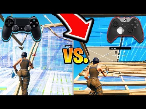 PS4 Or XBOX Fortnite Controller BETTER? Scuf/Xbox Elite CONTROLLER Better?! (Fortnite Battle Royale)