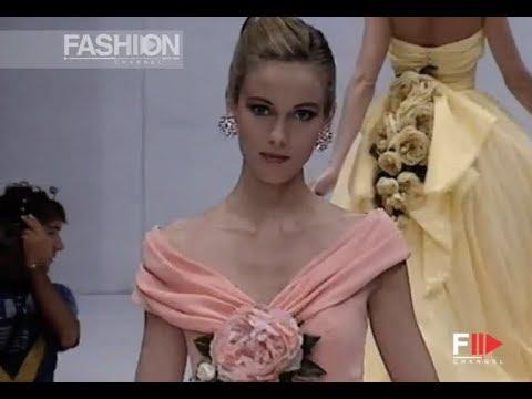 LUISA BECCARIA Fall 1991/1992 Haute Couture Rome - Fashion Channel