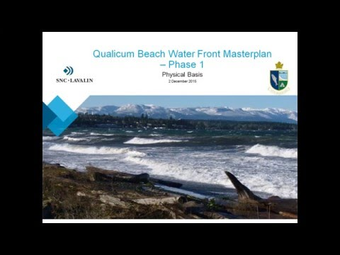 """Planning for a Resilient Waterfront at Qualicum Beach"" Webinar"