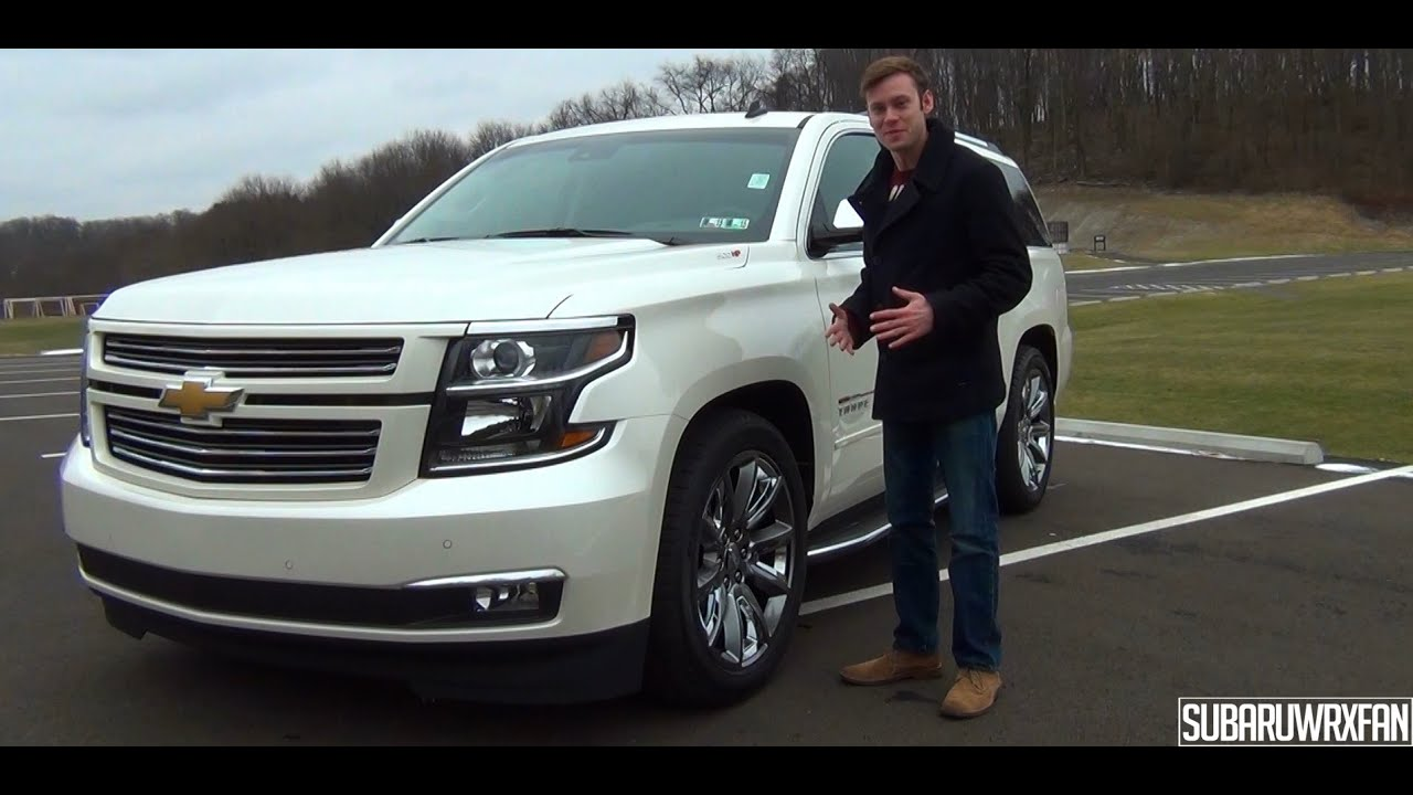 Review: HSV Supercharged 2015 Chevrolet Tahoe Sport ...
