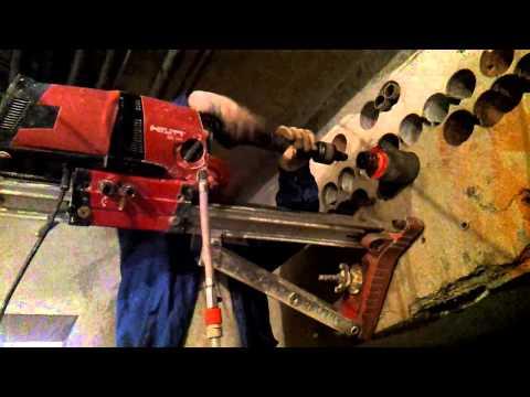 видео: Сверление отверстий в бетоне примеры и тонкости
