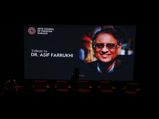 ACP Tribute   Dr. Asif Farrukhi   1st Death Anniversary #acpkhi #artscouncil