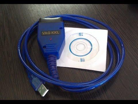 Диагностический кабель KKL VAG COM 409.1.  Установка драйвера