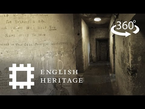 Inside the Cells of the Conscientious Objectors at Richmond Castle | A 360° Tour