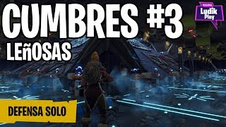 DEFENSE CUMBRES 3 ONLY WITH MACHINIST TIME ? FORTNITE SAVE THE WORLD ENGLISH GAMEPLAY