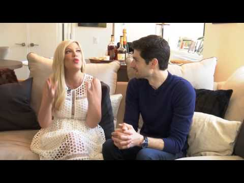 Ben Aaron and Ginger Zee Hang Out With Tori Spelling