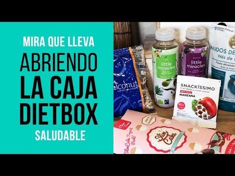 Abriendo la caja de DietBox de Noviembre