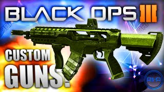Black Ops 3 'CUSTOM GUNS' - Multiplayer Gunsmith! - (Call of Duty BO3)