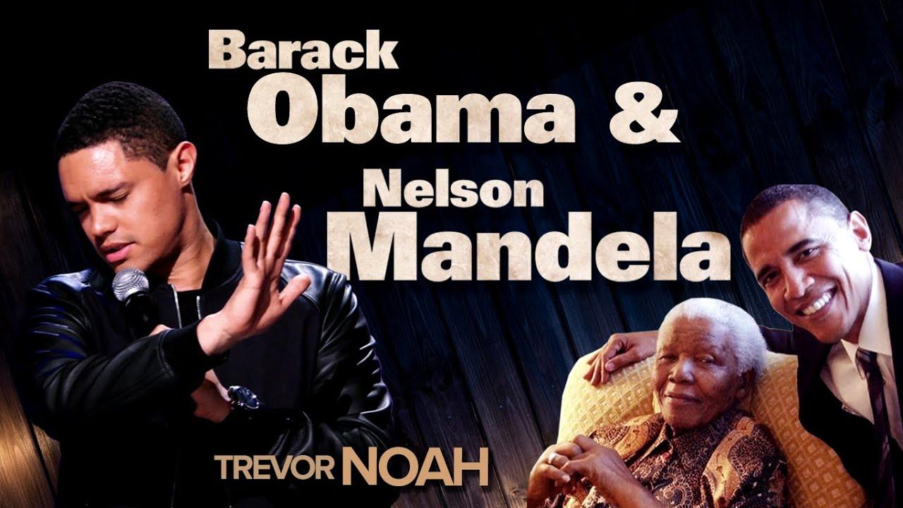 """Barack Obama Meeting Nelson Mandela"" - Trevor Noah (Afraid Of The Dark on Netflix)"