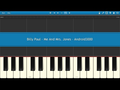Billy Paul - Me And Mrs. Jones Piano Tutorial