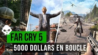 Far Cry 5 Unlimited Money Glitch - $15,000 Every Time *NOT CLICKBAIT*