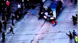 car plows through protesters at ferguson rally frizzo subaru edition