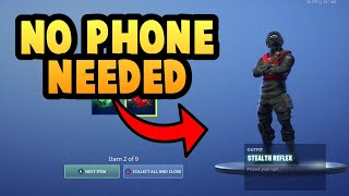 How To Get REFLEX BUNDLE In Fortnite WITHOUT GRAPHICS CARD