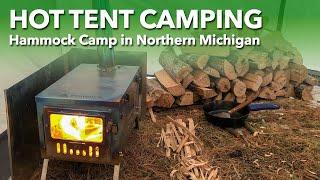 Hot Tent Camping - Norтhern Michigan