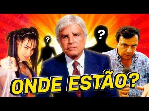 8 APRESENTADORES FAMOSOS QUE SUMIRAM DA TV...