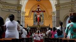 Erste Sonntagsmesse nach Anschlägen in Sri Lanka