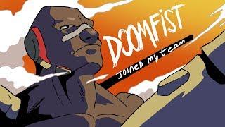 DOOMFIST JOINS MY TEAM (OVERWATCH ANIMATION)