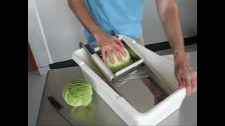 Cabbage Shredder Product Demonstration