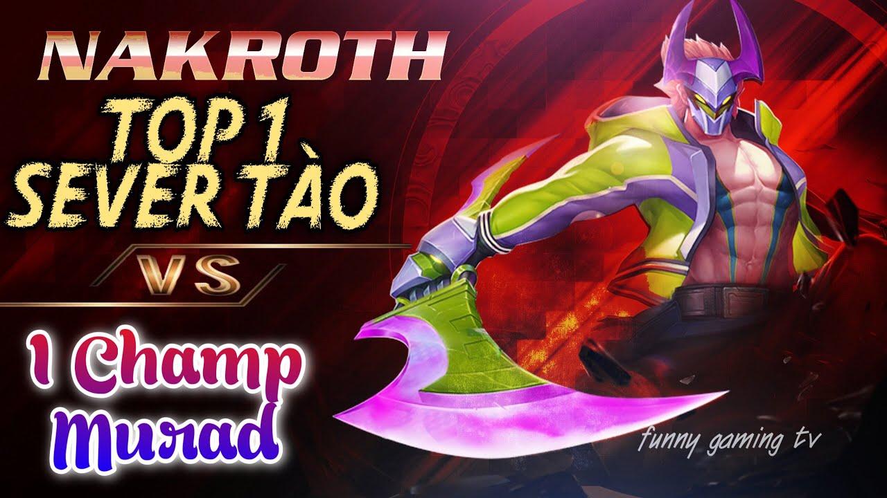 LIÊN QUÂN | Nakroth vs Murad & MẸO né Ảo Ảnh Trảm | FUNNY GAMING TV