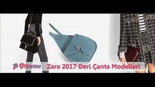 Zara 2017 Deri Çanta Modelleri #SenFarklısın