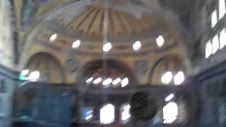 Hagia Sophia - Ramp and Upstairs Mosaics