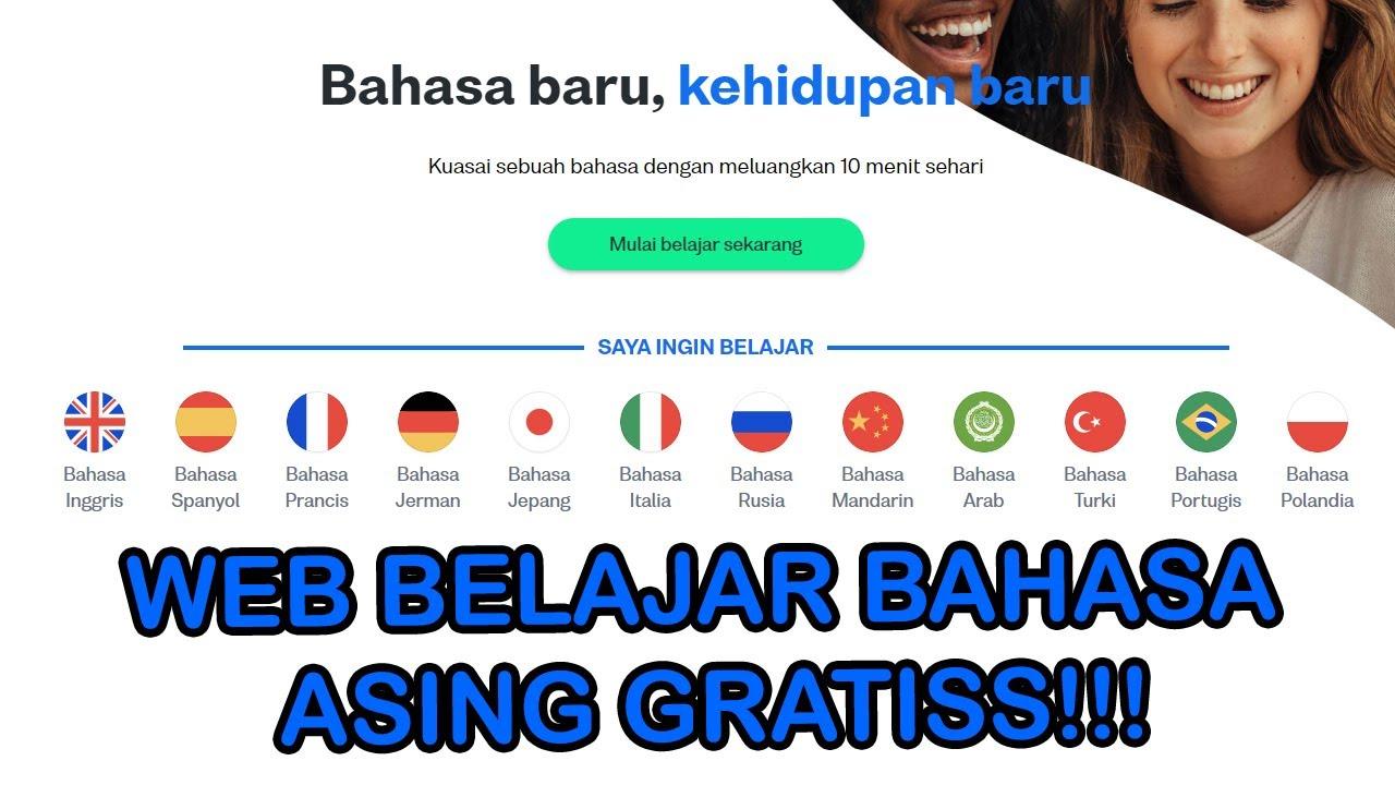 Belajar Bahasa Asing Dari Web GRATISSSS!!!