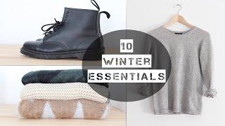 10 Winter Essentials LOOKBOOK || Awesome Stuff Week (TheNotoriousKIA)