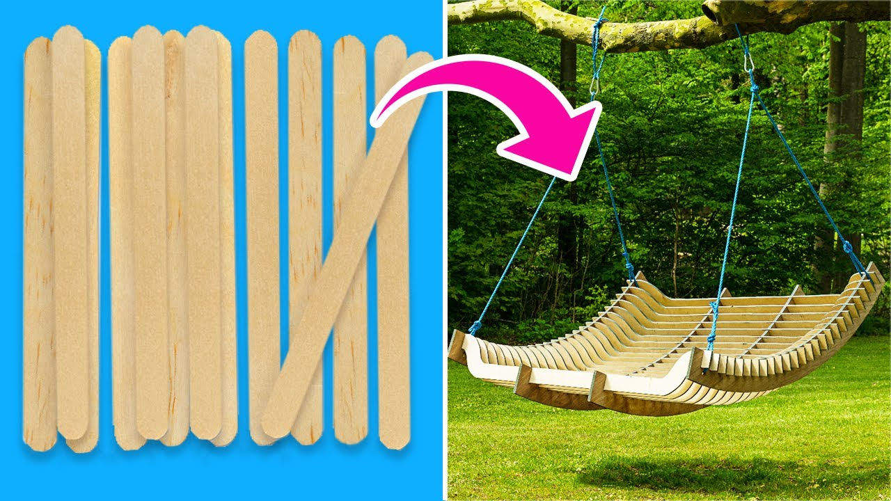 32 Smart DIYs And Crafts For Your Backyard