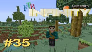 Minecraft FTB Infinity #35 | Starting some automation