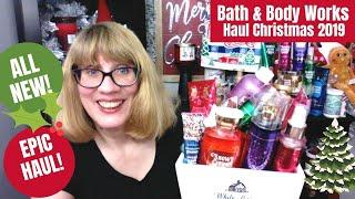 HUGE Bath & Body Works Haul Christmas 2019 - All NEW!!!