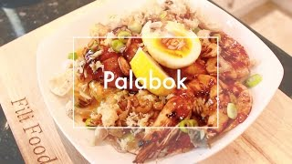 How to make Palabok - Seafood Noodles