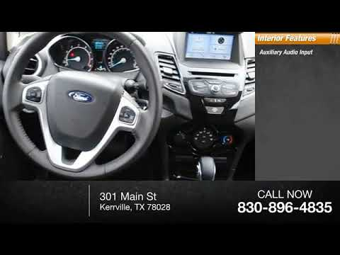 2016 Ford Fiesta Kerrville Tx Gm180314 Youtube