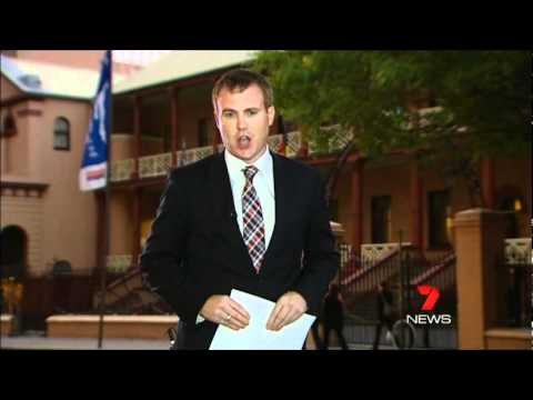 Seven News Sydney - NSW government assures NWRL will be built (7/5/2012)