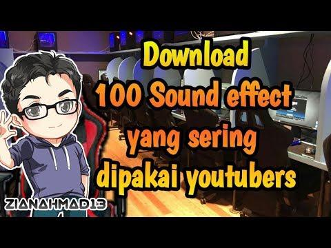 Bagi-bagi Sound Effect Yang Sering Digunakan Youtubers Terkenal!!! ||part 1|| Link Download