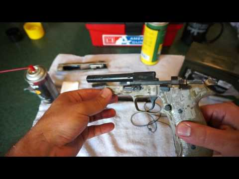 Sig Sauer Mosquito 22lr Cleaning!
