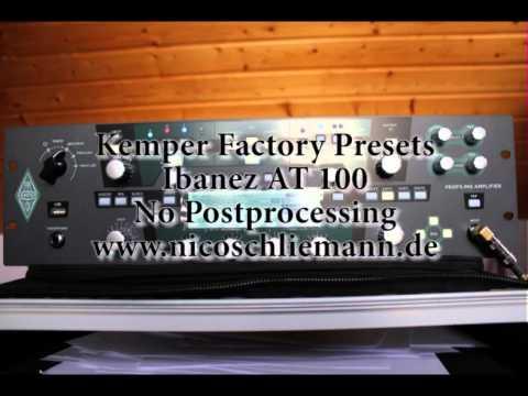 Kemper Factory Presets - Nico Schliemann KPA